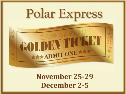 photo relating to Polar Express Golden Ticket Printable identified as Jubilee